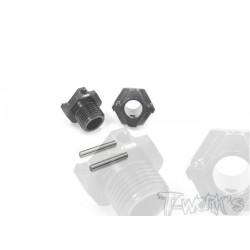 TO245K1 Hexagones de roues allégés +1mm pour TKI4 (2)