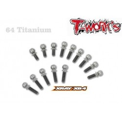TP011 Kit de rotules de suspension titane pour XB4 (14)
