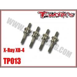 TP013 Entretoises d'amortisseurs en titane pour XB-4 (4)