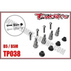 TP038 Entretoises d'amortos en titane pour B5 (4)
