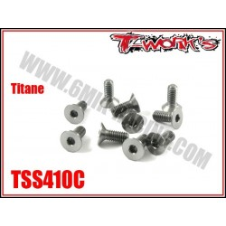 TSS410C Vis titane 4x10 tête fraisée (10)