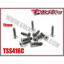 TSS416C Vis titane 4x16 tête fraisée (10)