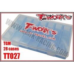 TT027 Boite de rangement TGM (28 cases)