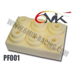 PF001 Mousses de filtre à air 6MIK (6 pcs)