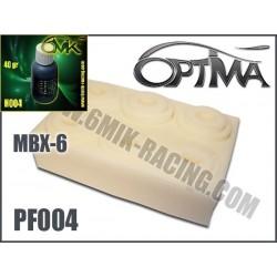 PF004H Kit de mousses de filtre à air (6 pcs) avec Huile (50ml) pour MBX-6