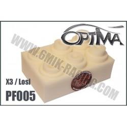 PF005 Mousses de filtre air pour Losi / X3 / Serpent (6 Pcs)