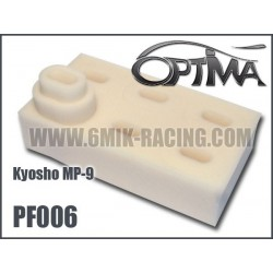 PF006 Mousses de filtre air pour Kyosho MP-9 TKI-3 (6 Pcs)