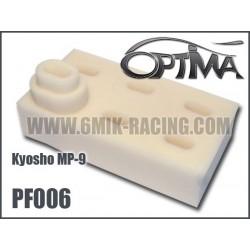 PF006 Mousses de filtre air pour Kyosho MP-9 TKI-3 (6 Pcs)