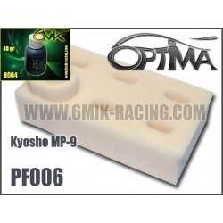 PF006H Kit de mousses de filtre à air (6 pcs) avec Huile (50ml) - MP-9 TKI-3