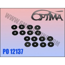 PO12137 Rondelles «Ride Control» 0,05mm (16 Pcs)