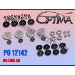 PO12142 Pistons à clapets «Team Edition» et «Ride Control» pour AGAMA