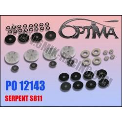 PO12143 Pistons à clapets «Team Edition» et «Ride Control» pour S811