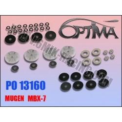 PO13160 Pistons à clapets «Team Edition» et «Ride Control» pour MBX-7