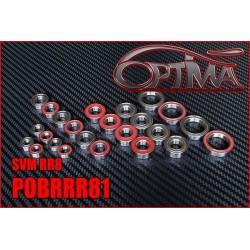 POBRRR81 Kit Roulements Complet pour RR8 (24 pcs)