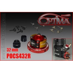 POCS432R embrayage 4 POINTS OPTIMA Ø32mm Rouge