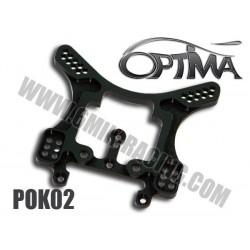 POK02 Support d'amortisseur arrière 5mm pour KYOSHO MP-9