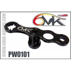 PW0101 Clef à roue et embrayage noir