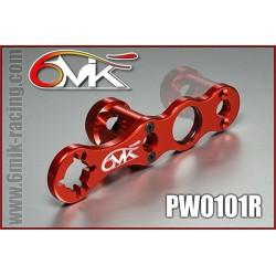 PW0101R Clef à roue et embrayage rouge