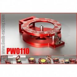 PW0110 Machine à coller les pneus en ergal rouge