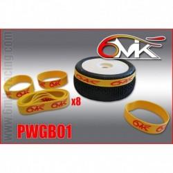 PWGB01 Elastiques de collage 1/10 et 1/8 Buggy (8)