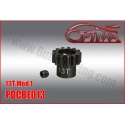 POCBE Pignon moteur 12 à 22 dts pour BRUSHLESS 1/8