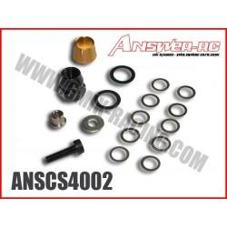 ANSCS4002 Ecrou de volant, cône, rondelles et rallonge de vilebrequin (le kit)