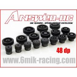 ANSPI48XX Pignon moteur 48 Dp - 14 à 35 dents pour 1/10