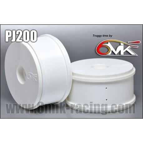 PJ200 Jantes 6MIK Type Truggy (la paire)