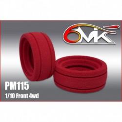 PM115 Insert 1/10 Ultra pour l'avant des 4×4 (la paire)