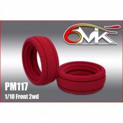 PM117 Insert 1/10 Ultra pour l'avant des 4×2 (la paire)