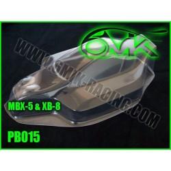 PB015 Carrosserie pour MBX-5 et X-Ray XB-8