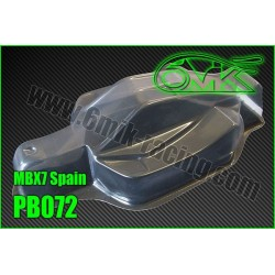 PB072 Carrosserie pour Mugen MBX-7 « Spain PB072