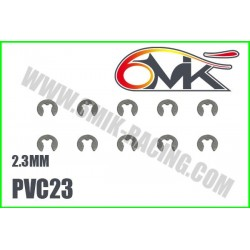 PVC23 Circlips Inox 2,3 mm (10 pcs)