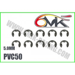 PVC50 Circlips Inox 5 mm (10 pcs)