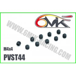 PVST34 Vis acier sans tête M3x4 (10 pcs)