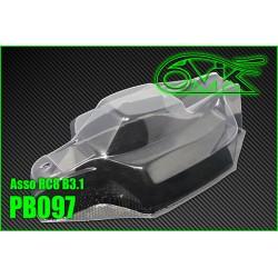PB097 Carrosserie 1/8 pour Asso RC8 B3.1