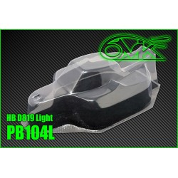 PB104L Carrosserie 1/8 pour HB D819 Light