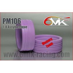 """PM106 Inserts 1/8TT spécial """"ASSYMETRIQUE"""" (la paire)"""