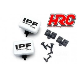 HRC8723B1 Set d'éclairage - 1/10 ou Monster Truck - LED - IPF Cover - 2x (sans LED)