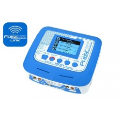 PC-020-002 Pulsetec - Quad Charger - Excel 200 Quad - Pulse Link App - AC 100-240V - DC 11-18V - 200W Power