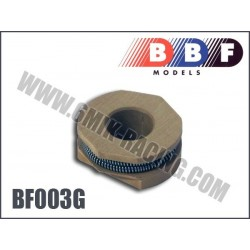 BF003G Masselottes Gold BBF (& ressorts)