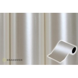OR-27-016-025 Oracover - Oratrim - Pearl White ( Length : Roll 25m , Width : 12cm )