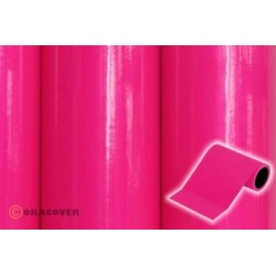OR-27-025-025 Oracover - Oratrim - Fluorescent Pink ( Length : Roll 25m , Width : 12cm )