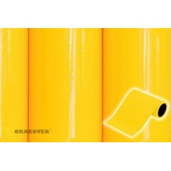 OR-27-033-025 Oracover - Oratrim - Cadmium Yellow ( Length : Roll 25m , Width : 12cm )