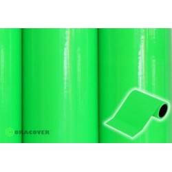 OR-27-041-025 Oracover - Oratrim - Fluorescent Green ( Length : Roll 25m , Width : 12cm )