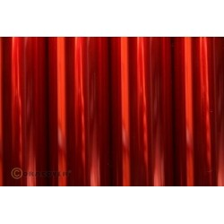 OR-321-029-010 Oracover - Air Outdoor - Transparent Red ( Length : Roll 10m , Width : 60cm )