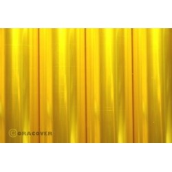 OR-321-039-010 Oracover - Air Outdoor - Transparent Yellow ( Length : Roll 10m , Width : 60cm )