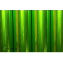 OR-321-049-010 Oracover - Air Outdoor - Transparent Light Green ( Length : Roll 10m , Width : 60cm )
