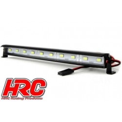 HRC8726-10 Set d'éclairage - 1/10 ou Monster Truck - LED - Prise JR - Block de toit Multi-LED - 10 LEDs