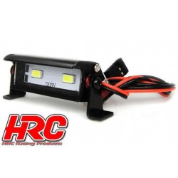 HRC8726-2 Set d'éclairage - 1/10 ou Monster Truck - LED - Prise JR - Block de toit Multi-LED - 2 LEDs